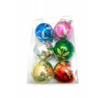 Набор ёлочных шаров 55 мм