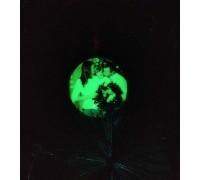 Ёлочный шар с фото светящийся